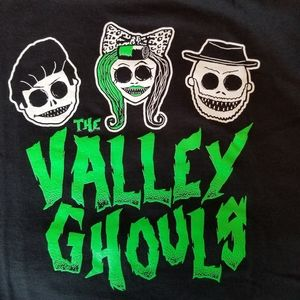 The Valley Ghouls band shirt Rockabilly Surf Punk